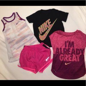 Toddler girls Nike lot